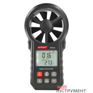 Анемометр0,3-30м/с, -10-45°CWINTACT WT87A