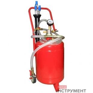 Установка для вакуумної відкачки масла (24л.)