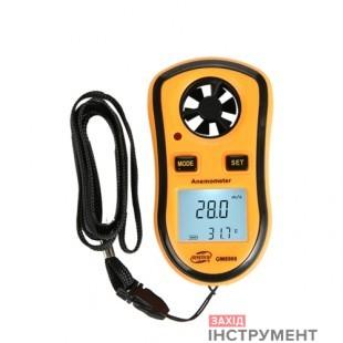 Анемометр0,1-30м/с, -10-45°CBENETECH GM8908