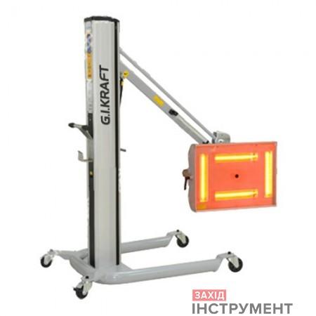 Інфрачервона короткохвильова сушка (4×1000W, 40°C-100°C, 0-99хв,ж/кдисплей, датчик відстані іt°)