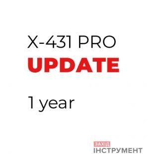 Оновлення програм X-431на 1рік
