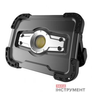Прожектор світлодіодний акумуляторний 10W зPOWERBANK 5000 mAh (вихід USB 5V), IP65 (Made inGERMANY) G. I. KRAFT FL-1002W