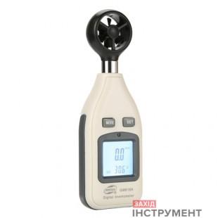 Анемометр0,1-30м/с, -10-45°CBENETECH GM816A
