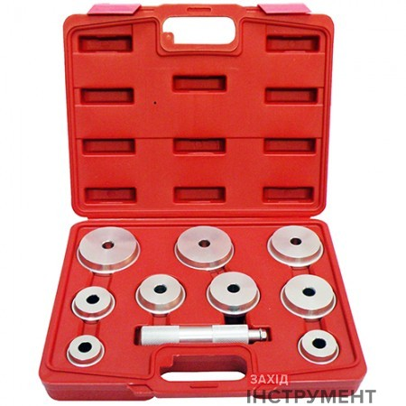 Комплект оправок для установки підшипників і сальників універсальний (10 од)