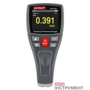 Товщиномір лакофарбових покриттів HD-дисплей Fe, 0-1800мкм WINTACT WT2100