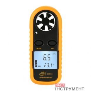 Анемометр0,1-30м/с, -10-45°CBENETECH GM816