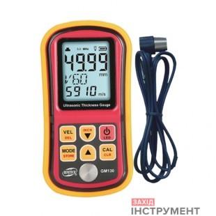 Товщиномір ультразвуковий, 1-300мм BENETECH GM130