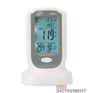 Монітор формальдегіду (HCHO, 0-50°C, 10-90%) BENETECH GM8801