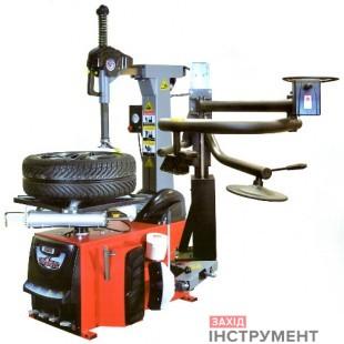 Шиномонтажний стенд (автомат, захоплення диска від 10″ до 26″, + технороллер, пневмовзрив)