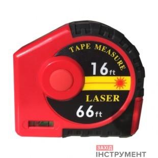 Далекомір лазерний/ рулетка 2-в-1 5м/ 20м PROTESTER J20