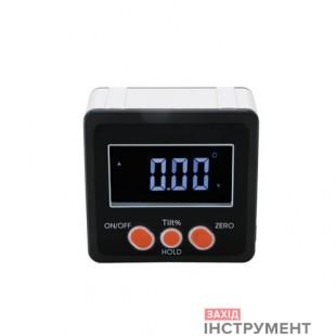 Кутомір електронний (інклінометр) намагнітній підставці (4×90 °) PROTESTER 5415-90B